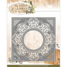Precious Marieke the Nature of Christmas - Christmas Frame - Cutting Dies