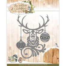 Precious Marieke the Nature of Christmas - Christmas Dear - Cutting Dies