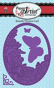 HOTP Paper Artist Butterfly Window Cutting Die Set 5365