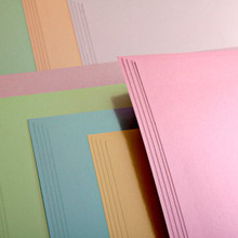 10 Satin Finishes Board 10 Colors 8.5x11