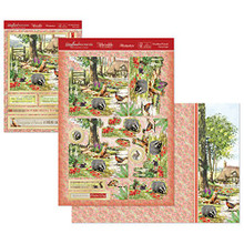 Hunkydory Woodland Wonder- Woodland Friends Deco-Large Set Card Kit WOOD906