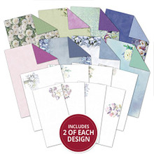 Hunkydory Filigree Frames Frosted Florals Inserts & Papers for Cards