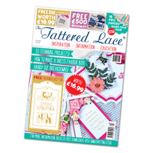 Tattered Lace Magazine Issue 40 with Tags  Dies