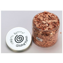 Cosmic Shimmer Gilding Flakes 200ml Pot - Copper Kettle
