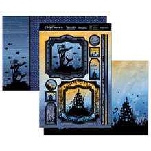 Hunkydory Twilight Under the Sea - Majestic Marine Topper Set Card Kit TSEA904