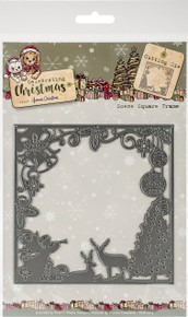 Find It Yvonne Creations Celebrating Christmas Die-Christmas Scene Square Frame