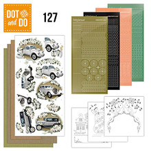 Hobbydots Dot and Do Floral Corners NR081 Card Set