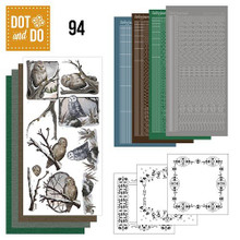 Hobbydots Dot and Do Winter Owls NR094 Card Set