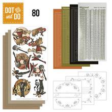 Hobbydots Dot and Do NR080 Music Card Set