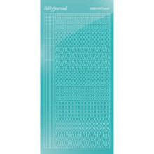 Find It Trading Hobbydots sticker style 15- Mirror - Emerald