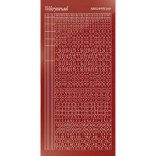 Find It Trading Hobbydots sticker style 15- Mirror - Red