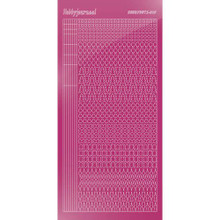 Find It Trading Hobbydots sticker style 15- Mirror - Pink