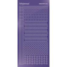 Find It Trading Hobbydots sticker style 16- Mirror - Purple