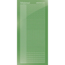 Find It Trading Hobbydots sticker style 4- Mirror - Lime