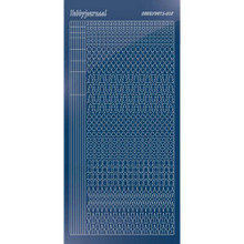 Find It Trading Hobbydots sticker style 15- Mirror - Blue