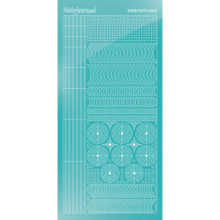 Find It Trading Hobbydots sticker style 6- Mirror - Emerald
