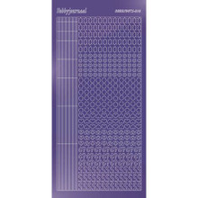 Find It Trading Hobbydots sticker style 10 - Mirror - Purple