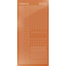 Find It Trading Hobbydots sticker style 11 - Mirror - Copper
