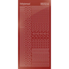 Find It Trading Hobbydots sticker style 11 - Mirror - Red