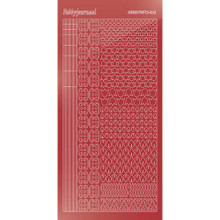 Find It Trading Hobbydots sticker style 12 - Mirror - Christmas Red