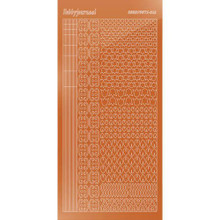 Find It Trading Hobbydots sticker style 12 - Mirror - Copper