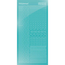 Find It Trading Hobbydots sticker style 11 - Mirror - Emerald