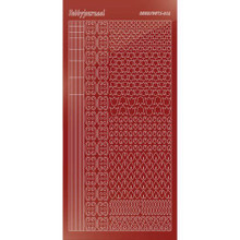 Find It Trading Hobbydots sticker style 12 - Mirror - Red