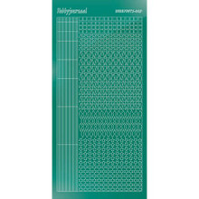 Find It Trading Hobbydots sticker style 9 - Mirror - Christmas Green