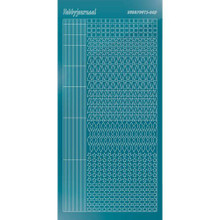 Find It Trading Hobbydots sticker style 9 - Mirror - Turquoise