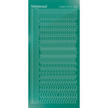 Find It Trading Hobbydots sticker style 20 - Mirror - Christmas Green
