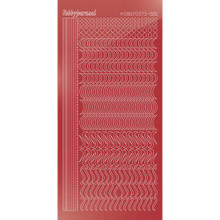 Find It Trading Hobbydots sticker style 20 - Mirror - Christmas Red