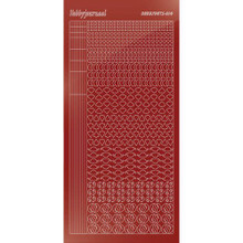 Find It Trading Hobbydots sticker Style14 - Mirror - Red