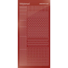 Find It Trading Hobbydots sticker style 9 - Mirror - Red