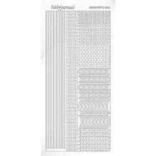 Find It Trading Hobbydots sticker style 2 - White