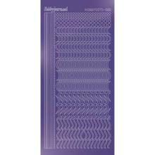 Find It Trading Hobbydots sticker style 20 - Mirror - Purple