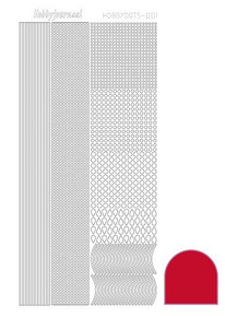 Find It Trading Hobbydots sticker style 1 - Red