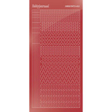 Find It Trading Hobbydots sticker style 13 - Mirror - Christmas Red