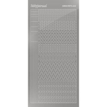 Find It Trading Hobbydots sticker style 13 - Mirror - Silver