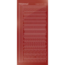Find It Trading Hobbydots sticker style 20 - Mirror - Red