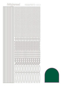 Find It Trading Hobbydots sticker style 3 - Green