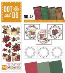 Dot and Do Flowers & Letters DODO046 Hobbydots Card Set
