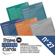 Find It Trading Hobbydots Stickers for No. 27 Frame Layered Card Set