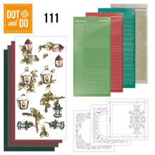 Dot and Do The Nature of Christmas DODO111 Hobbydots Card Set