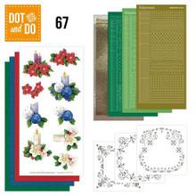 Hobbydots Card Deco Christmas Candles Dot and Do 15 Card Set DODO067