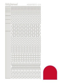 Find It Trading Hobbydots Sticker Style 15- Red
