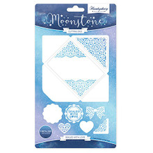 Hunkydory Moonstone Sealed with Love Cutting Dies MSTONE028