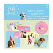 Papermania Paws for Thought - 5x5 Dress Up Card Kit