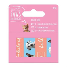 Papermania Paws for Thought - Craft Tape 5m rolls