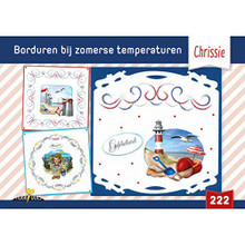 Booklet 222 - Embroidery in Summer Temperatures - Chrissie - Patterns & Ideas - Dutch