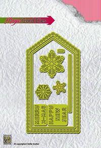 Nellie Snellen Magic Card Dies Christmas Card 1 Cutting Die Set